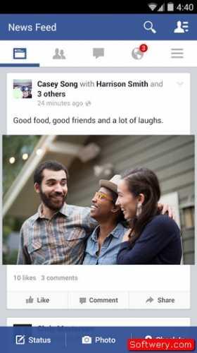 تحميل facebook اخر تحديث للاندرويد