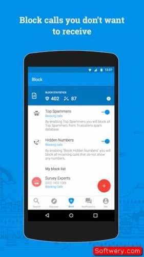 تحميل تطبيق Truecaller - تروكولر دليل الهاتف جميع الانظمه المحموله
