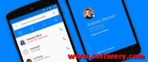 برنامج Hello لمعرفة اسم عنوان حظر المتصل عبر فيس بوك للاندرويد