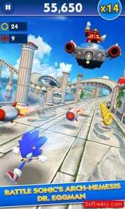 تحميل لعبة سونيك داش Sonic Dash للاندرويد و الايفون و الويندوز10 - www.softwery.com Image00001