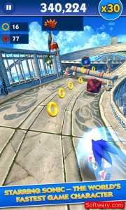 تحميل لعبة سونيك داش Sonic Dash للاندرويد و الايفون و الويندوز10 - www.softwery.com Image00002