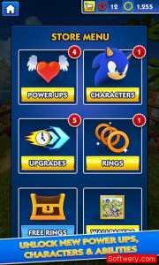 تحميل لعبة سونيك داش Sonic Dash للاندرويد و الايفون و الويندوز10 - www.softwery.com Image00004