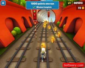 لعبة سب واي سيرف Subway Surfers للأندرويد APK