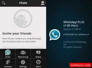 تحميل برنامج Whatsapp Plus واتس اب بلس عربي جميع الاصدارات APK